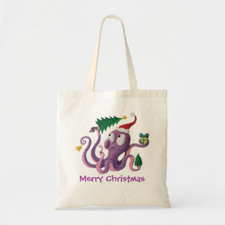 Christmas Octopus Bag