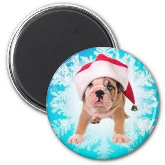 Christmas off dog - magnets