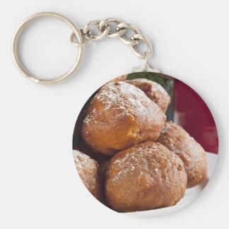 Christmas Oliebollen Key Ring