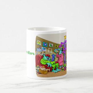 Christmas on Mars Coffee Mug