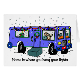 Christmas on the road cards