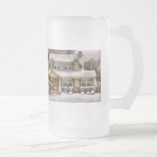 Christmas - One cold winter's morning Coffee Mug