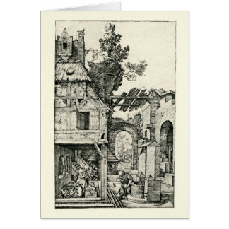 Christmas or Christ's birth by Albrecht Durer Card