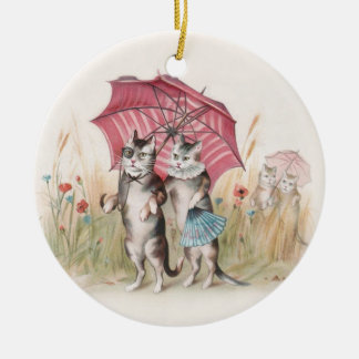 Christmas Ornament for Cat Lovers - Vintage Cats