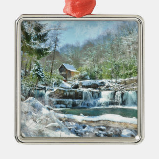 Christmas Ornament -Frosty day at Babcock