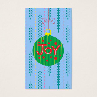 Christmas Ornament Gift Tag