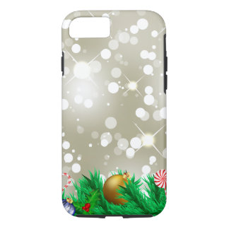 Christmas Ornament Glitter iPhone 8/7 Case