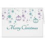 Christmas Ornament Greeting Card 2