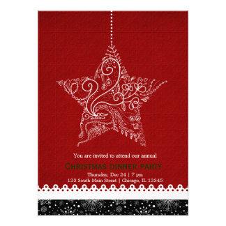 Christmas Ornament Custom Invitations