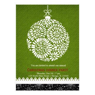 Christmas Ornament Invite