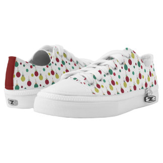 Christmas Ornament Low Top Tennis Shoes