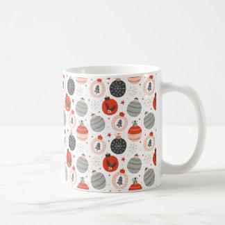 Christmas Ornament Pattern Coffee Mug
