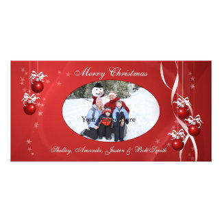 Christmas Ornament Photo Card