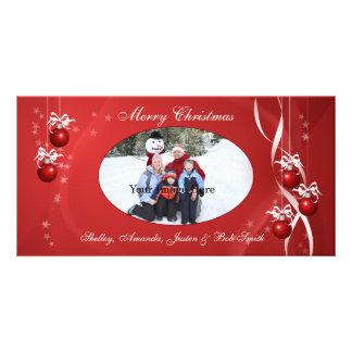 Christmas Ornament Photo Card