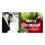 Christmas Ornament Photo Christmas Card Personalized Photo Card