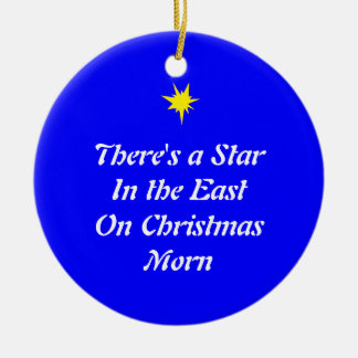 Christmas Ornament Star in the East