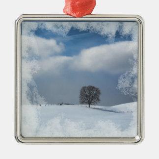 Christmas Ornament Winter Solitude