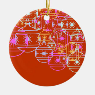 Christmas Ornament with Colorful Ornaments