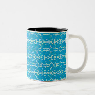 Christmas Ornaments 101 Blue/Mnt Two-Tone Mug