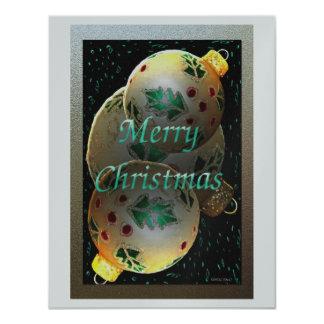 Christmas Ornaments 11 Cm X 14 Cm Invitation Card