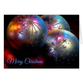 Christmas Ornaments 2011 2 Card