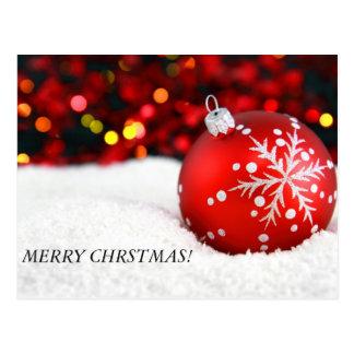 christmas ornaments 3, MERRY CHRSTMAS! Postcard