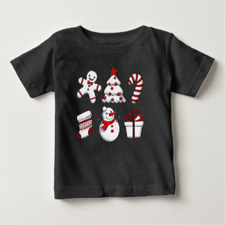 Christmas Ornaments Baby T-Shirt