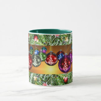 Christmas Ornaments Decorative Combo Mug
