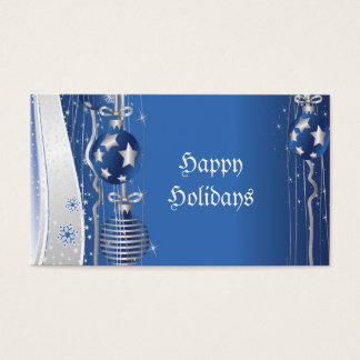 Christmas Ornaments Gift Tag-Business Cards