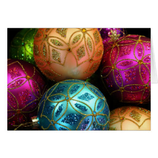Christmas ornaments note/greeting Card 3