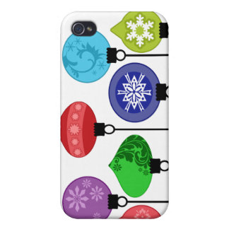 Christmas Ornaments Speck Case Cover For iPhone 4