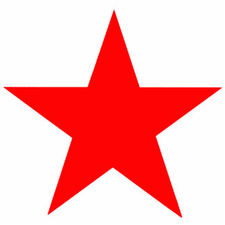 Christmas Ornaments Star Red Photo Sculptures
