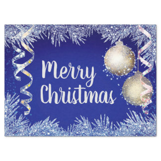 Christmas Ornaments Tissue Paper