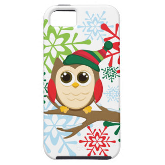 Christmas owl iPhone 5 cases