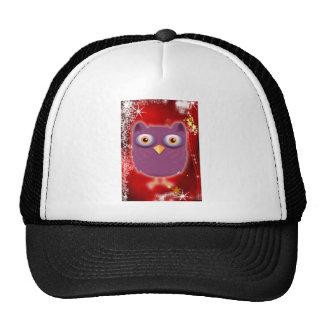 Christmas Owl Trucker Hat