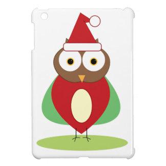 Christmas Owl iPad Mini Cover