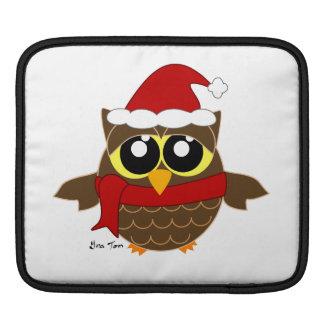 Christmas Owl Sleeves For iPads