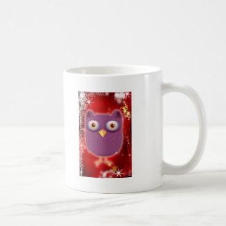 Christmas Owl Coffee Mugs