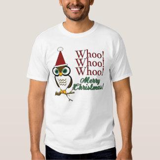 Christmas Owl T-shirt
