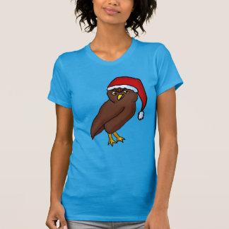 Christmas Owl woman's Shirt