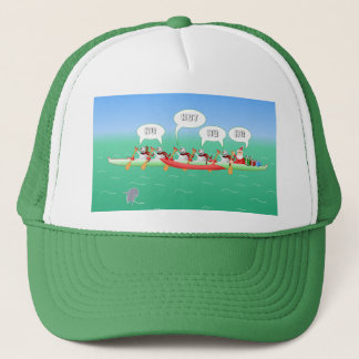 Christmas Paddle Trucker Hat