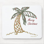 Christmas Palm Mouse Pads