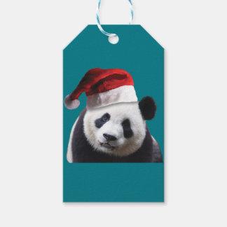 Christmas Panda Bear Gift Tags