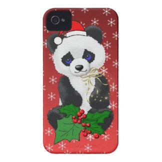 Christmas Panda iPhone 4 Case