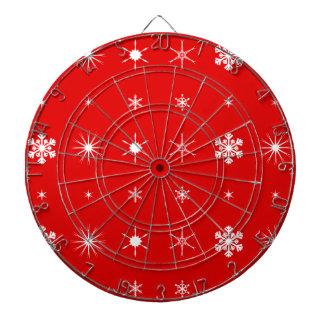 Christmas Paper Background Dartboard