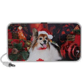 Christmas - Papillon - Sylvie Portable Speakers