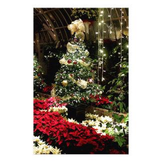 Christmas Paradise Personalised Stationery
