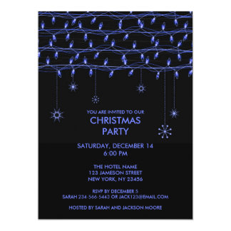 Christmas Party Flat Invitation