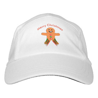 Christmas Party Gingerbread Man Hat