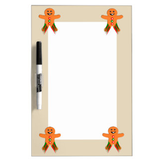 Christmas Party Gingerbread Man Memo Board